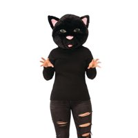 Rubie's Plush Cat Head Cosplay Halloween Costume Accessory