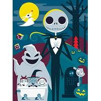 Ceaco Disney - Tim Burton's The Nightmare Before Christmas Jigsaw Puzzle, 300 Pieces