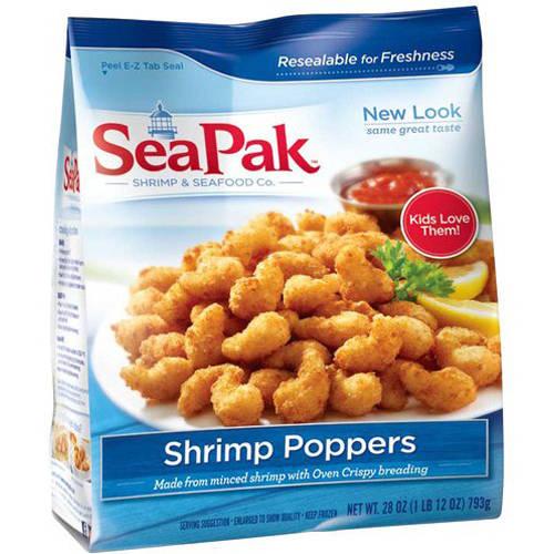SeaPak Shrimp Poppers, 25 oz