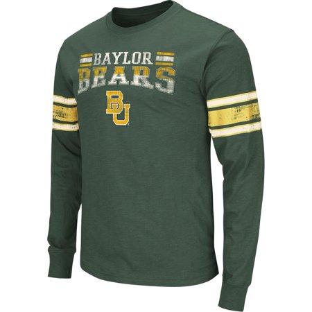 Baylor University Alumni - Baylor University Bears Men's Distressed Print Long Sleeve Tee
