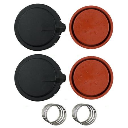 Genuine Vent Valve - Pair Set Crankcase Pressure Vent Regulating Valve Repair Kits Replacement for BMW 5 Series 6 Series 7 Series X5 4.4L 4.8L 11127547058