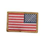 US Flag Patch Reverse Color- RWB