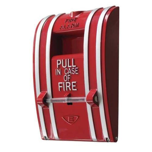 EDWARDS SIGNALING 270A-DPO Fire Alarm Pull Station, Single Action