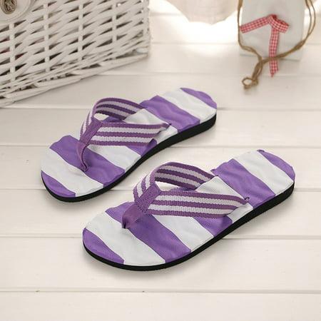 4c07e2dfdedc DZT1968 - DZT1968 Women Summer Sandals Slipper Indoor Outdoor Flip-flops  Beach Shoes - Walmart.com