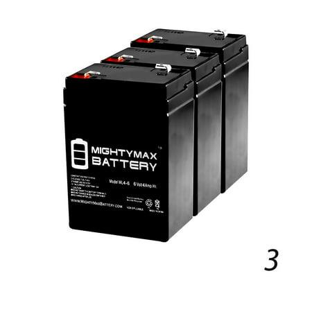 6V 4.5AH Rechargable Game Deer Feeder Predator Caller Battery - 3 Pack thumbnail