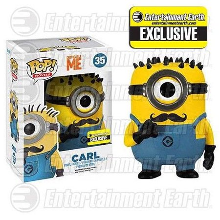 Funko POP Movies Despicable Me: Carl Vinyl Figure - Collectible Minions