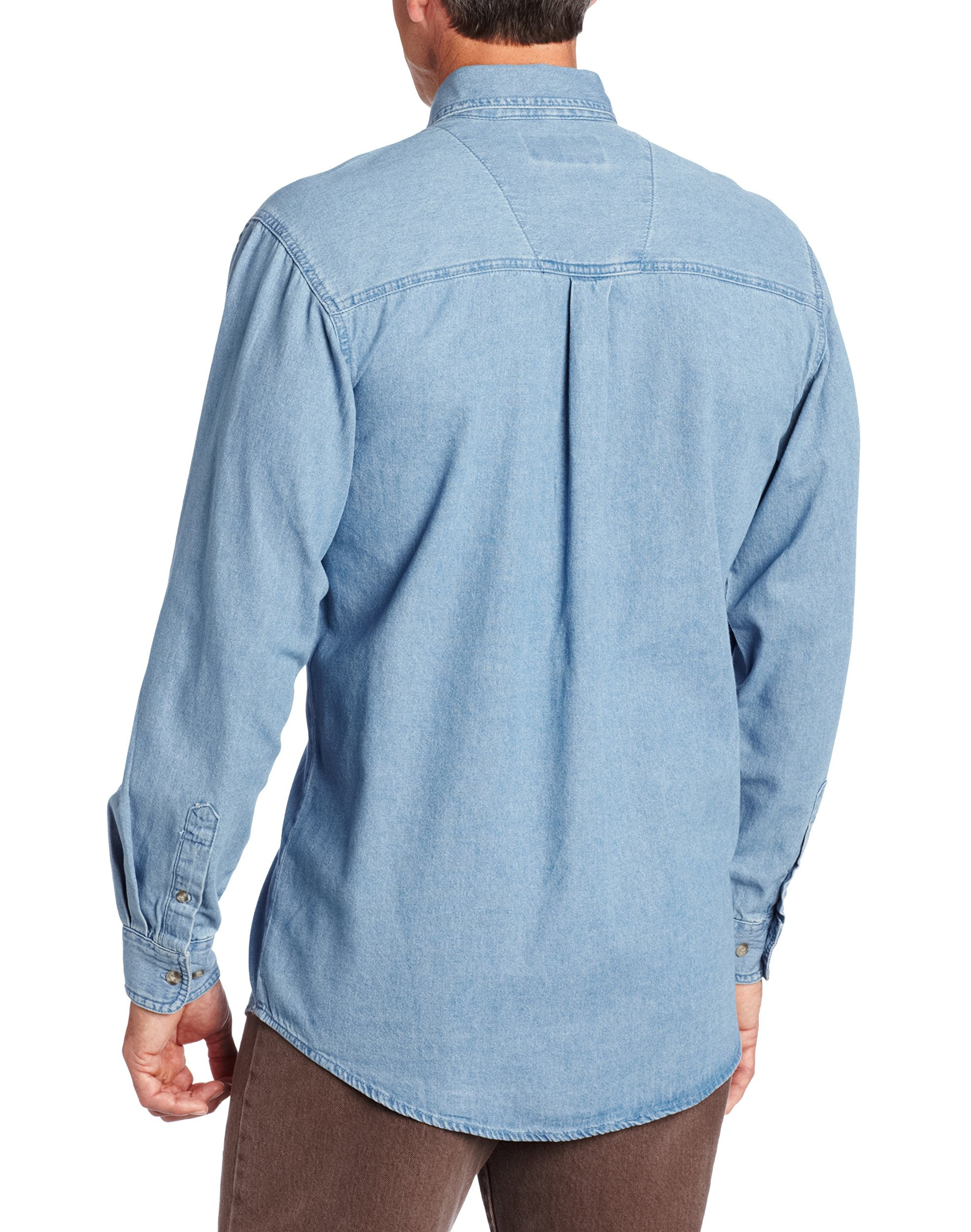 M White WRANGLER Mens FINE DETAL EMBROIDERY Shirt