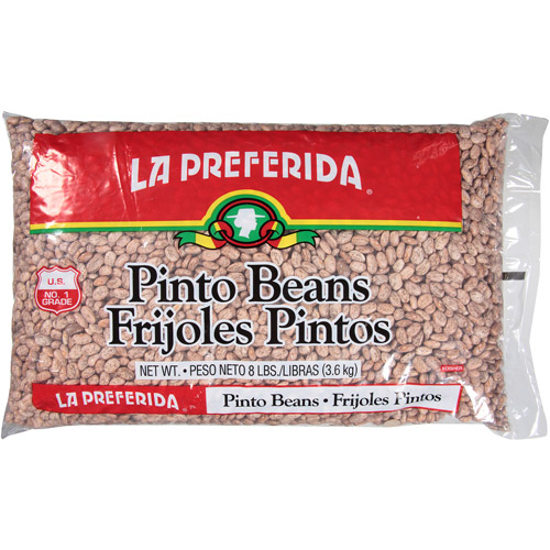La Preferida Pinto Beans Frijoles Pintos, 8 lbs, (Pack of 6)