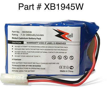 ZZcell Battery For Shark Euro Pro Vacuum Cordless Sweeper Model XB1945W, XB1946W, XB1946, V1945Z, (Shark Cordless Sweeper Battery)