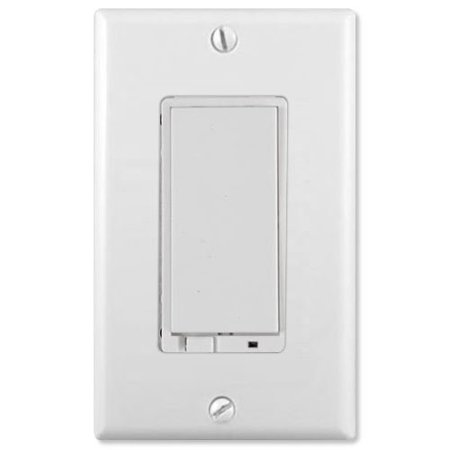 linear wd1000z 1 z wave wall dimmer switch light control white wd1000z. Black Bedroom Furniture Sets. Home Design Ideas