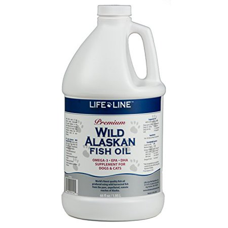 Lifeline premium wild alaskan fish oil skin coat pet for Dog food with fish oil
