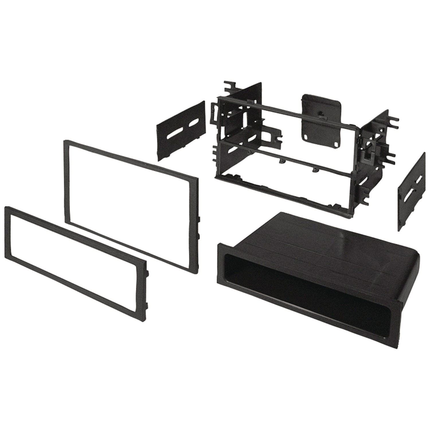 Best Kits BKHONK830 In-Dash Installation Kit (Honda/Acura 1986 and up Double-DIN/Single-DIN with Pocket)
