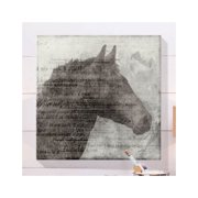 Cape Craftsmen Equestrian Indoor by Ken Roko Graphic Art on Canvas