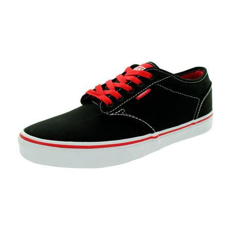VANS - Vans Atwood Black Red Skate Casual ( VN-0XB0FOL ) - Walmart.com 067f0d00aa43
