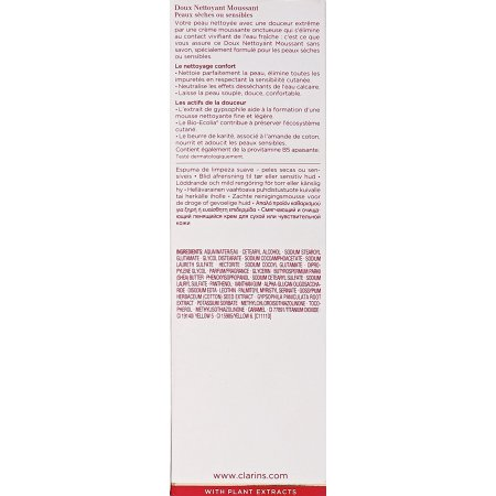 Best Clarins Gentle Foaming Cleanser, 4.4 Oz deal