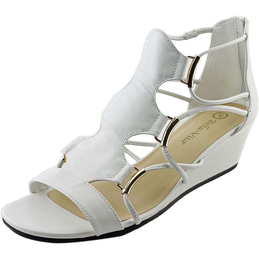 Bella Vita Isla Women W Open Toe Leather Wedge Sandal by Bella Vita