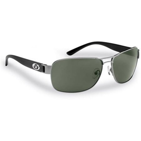 Caysfort Polarized Sunglasses - Gunmetal-Black Frame, Smoke