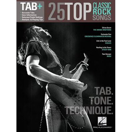 25 Top Classic Rock Songs - Tab. Tone. Technique. : Tab+ for $<!---->