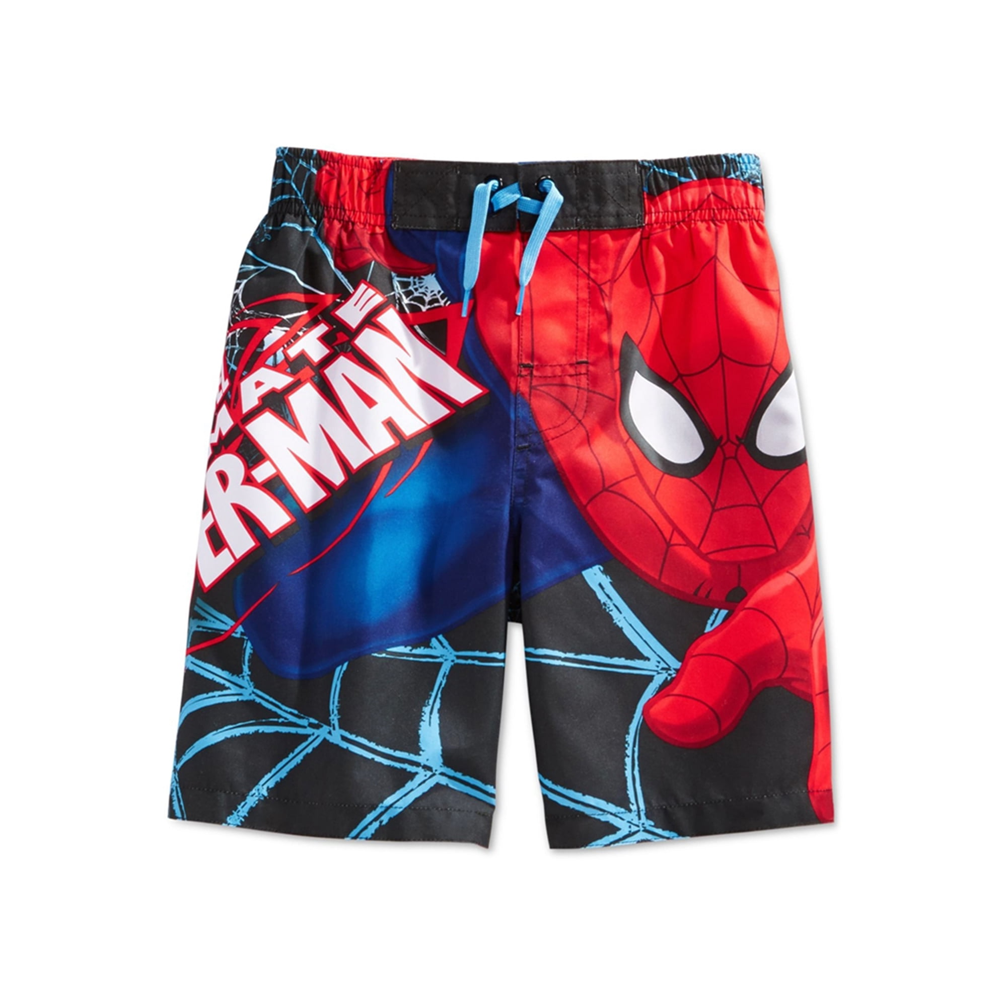 5ef81301641ac Marvel Comics Boys Spiderman Swim Bottom Trunks blue 4 - Little Kids (4-7)  | Walmart Canada