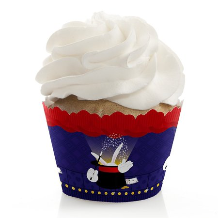 Magic - Birthday Party Cupcake Wrappers - Set of 12