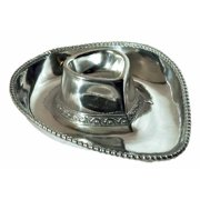 Arthur Court 15-1/2-Inch by 13-Inch Cowboy Hat Chip and Dip