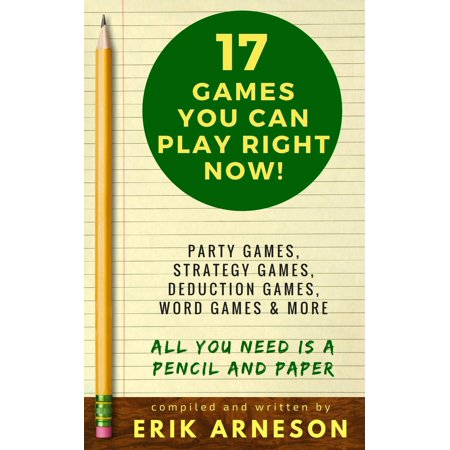 17 Games You Can Play Right Now! - eBook](Halloween Games You Can Play At Home)