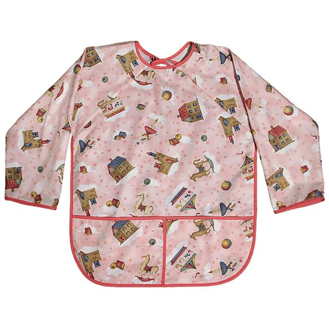 Raindrops 7797PR Raindrops Pre-school Art Smock-Pink Princess Girl Print