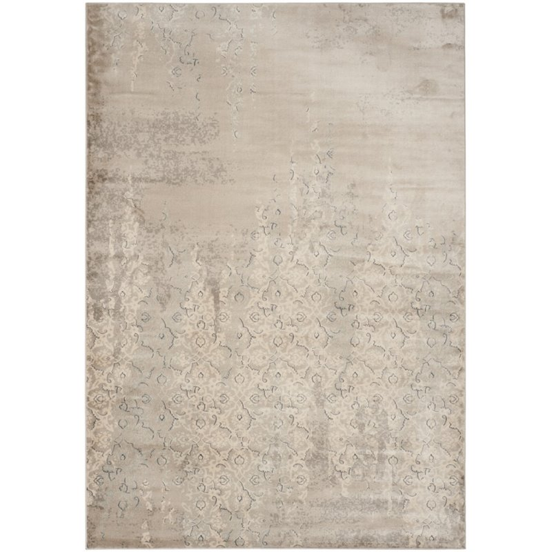 Safavieh Vintage 3' X 5' Power Loomed Rug in Gray and Ivory - image 3 of 3