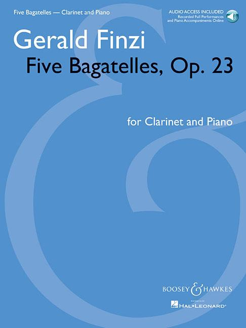 Five Bagatelles, Op. 23: Clarinet in B-Flat and Piano with Online Audio of Performance and... by Boosey & Hawkes Inc