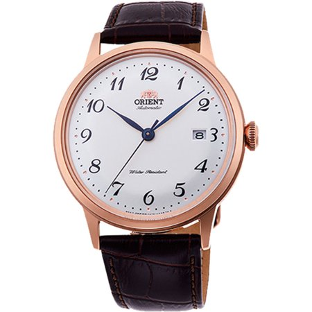 Orient RA-AC0001S10A Men's Bambino Version 5 Rose Gold Tone Automatic