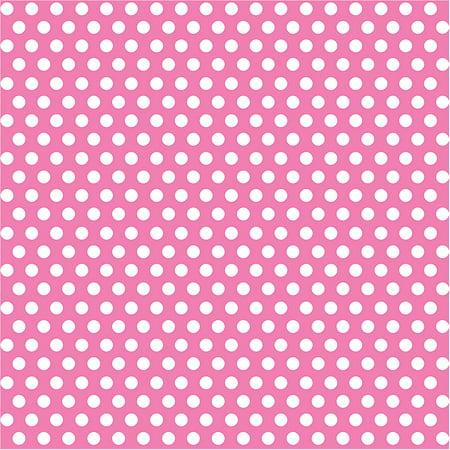 Hot Pink Polka Dot Wrapping Paper