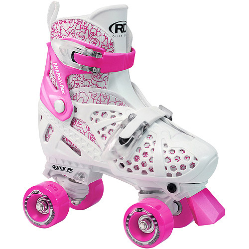 Trac Star Youth Girls' Adjustable Roller Skates by Generic