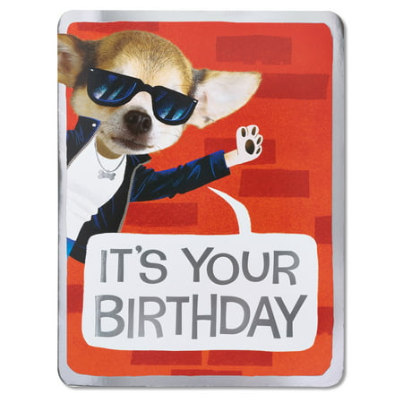 American Greetings Right Notes Birthday Card With Foil Walmart