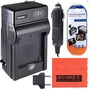 DMW-BMB9 Battery Charger for Panasonic Lumix DMC-FZ40K DMC-FZ45K DMC-FZ47K DMC-FZ48K DMC-FZ60 DMC-FZ70 DMC -FZ100 DMC-FZ150 Digital Camera + More!!