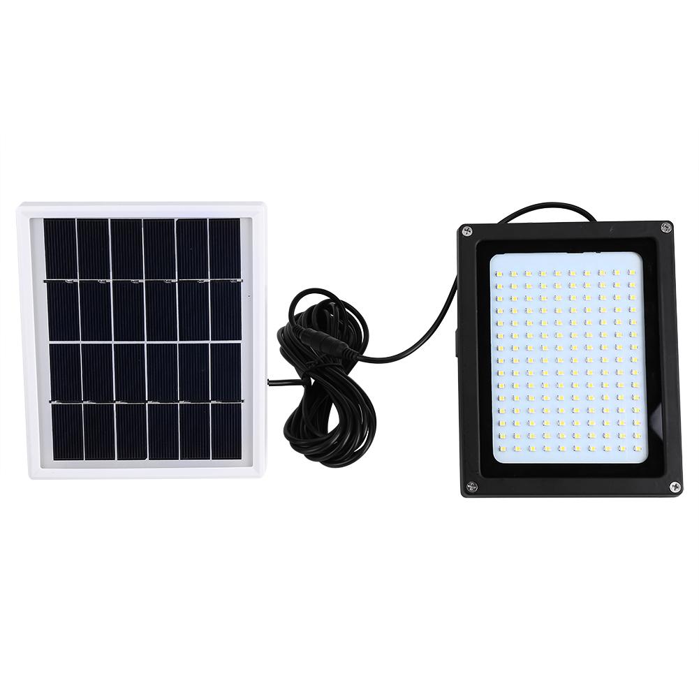 Yosoo Solar Powered 150 LED Light Light-control & Motion Sensor Outdoor Garden Stairs Security Lamp, LED Solar Light, Outdoor Motion Sensor Light