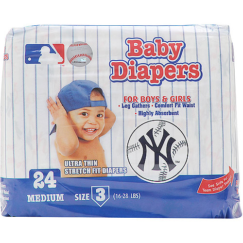 New York Yankees Supreme Disposable Baby Diapers
