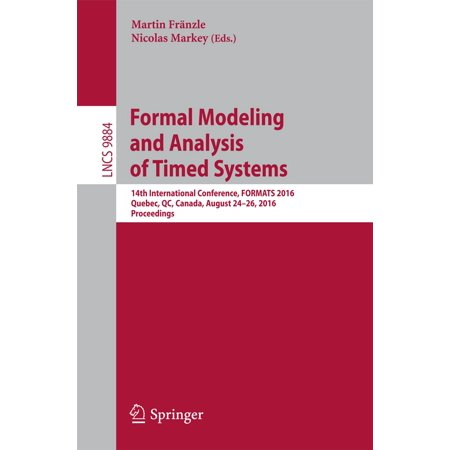 Formal Modeling and Analysis of Timed Systems -