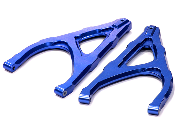 Integy RC Toy Model Hop-ups T4147BLUE Billet Machined Rear Upper Arm for Traxxas 1 10 Revo... by Integy