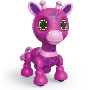 Zoomer Zupps Safari, Gigi Interactive Giraffe with Lights, Sounds and Sensors, Walmart Exclusive