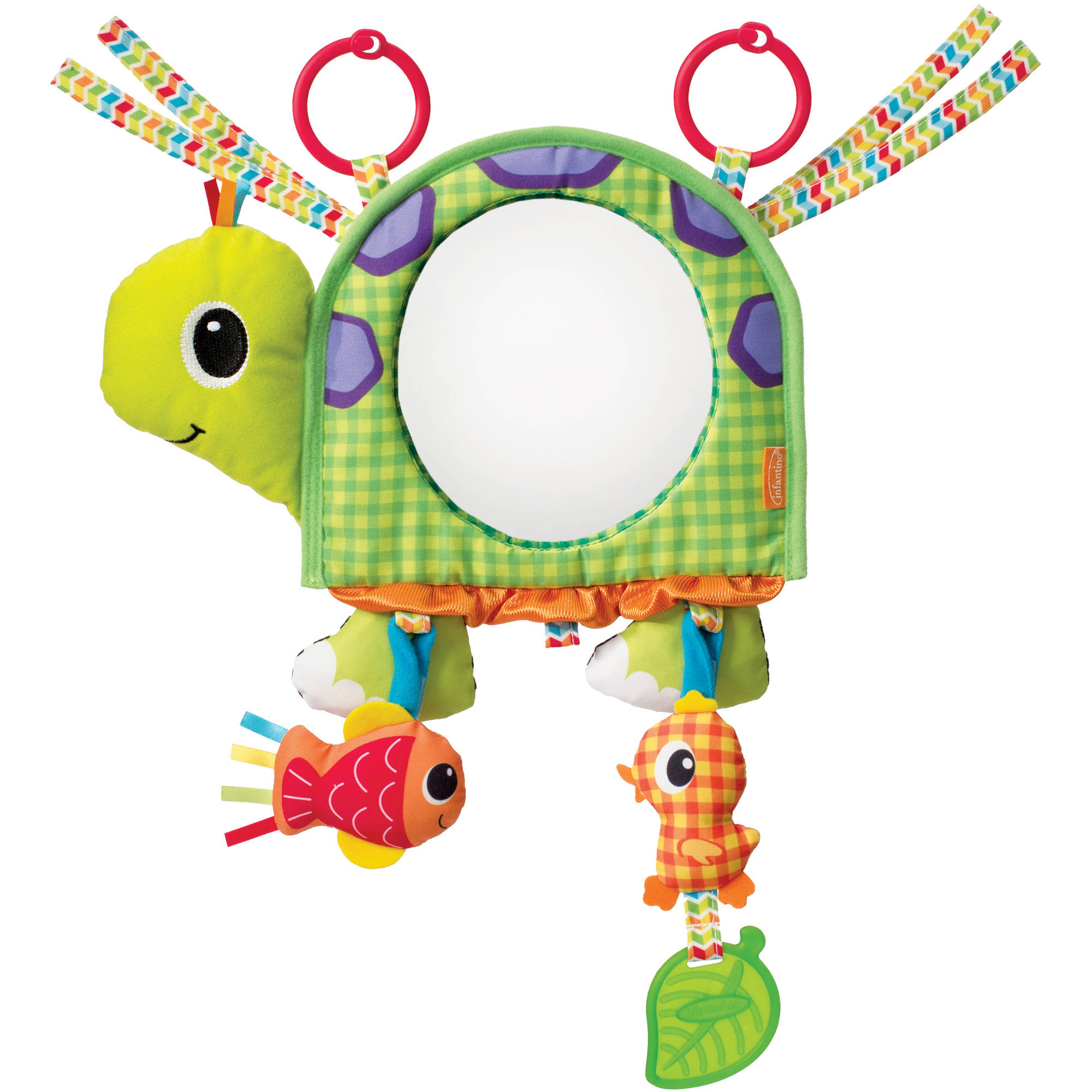 Infantino Topsy Turvy Discover & Play Activity Mirror
