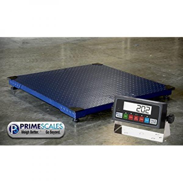 WeighMax 10000lbs Capacity, Durable Floor Pallet Scale, 5...