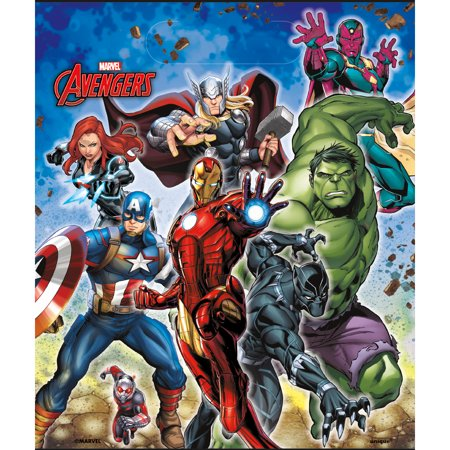 Epic Avengers Loot Treat Bags (8) (Halloween Trick Or Treat Bags For Sale)