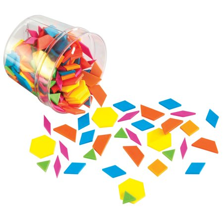 Learning Resources Brights! Pattern - Pattern Blocks