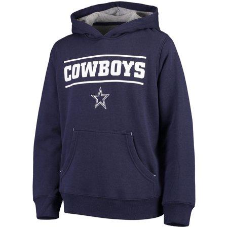 the best attitude ba2c3 830c2 Youth Navy Dallas Cowboys Hal Pullover Hoodie - Walmart.com