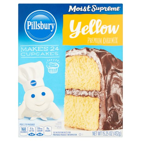 Pillsbury Moist Supreme Yellow Premium Cake Mix 15 25 Oz