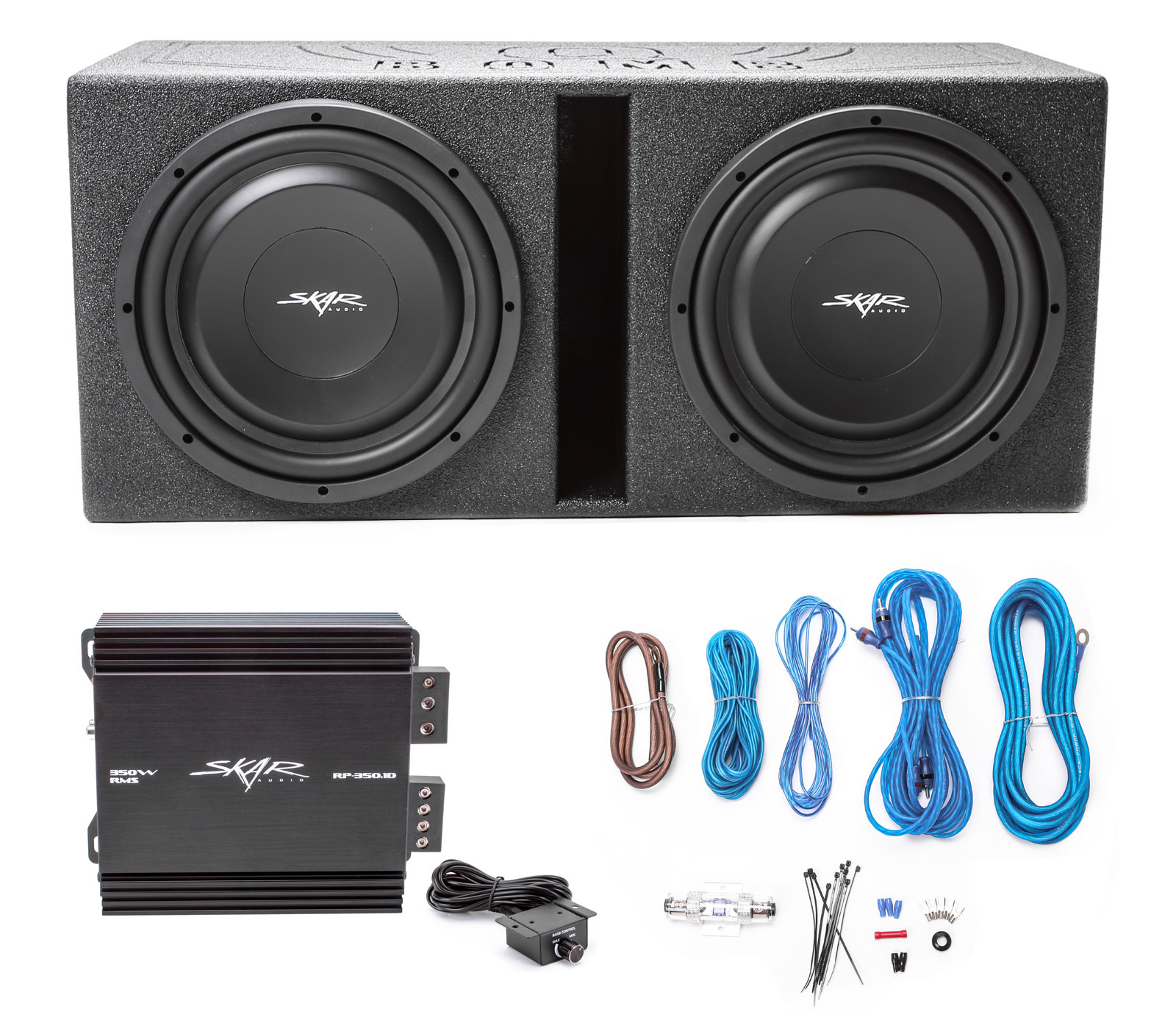 Skar Audio Wiring Diagram Will Be A Thing Panel 2 12 1600w Subwoofers With Vented Armor Lined Enclosure Rh Walmart Com Evl Setup
