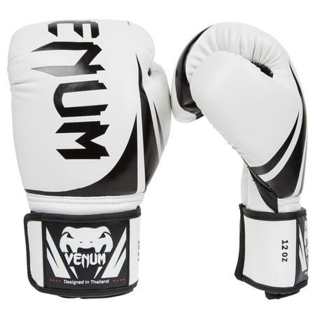 Venum Challenger 2.0 Boxing Gloves - White - 12-Ounce - Balloon Boxing Gloves