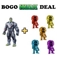BOGO: Get 2 Hulk Funko POPs Free With Purchase of Incredible Hulk Action Figure!