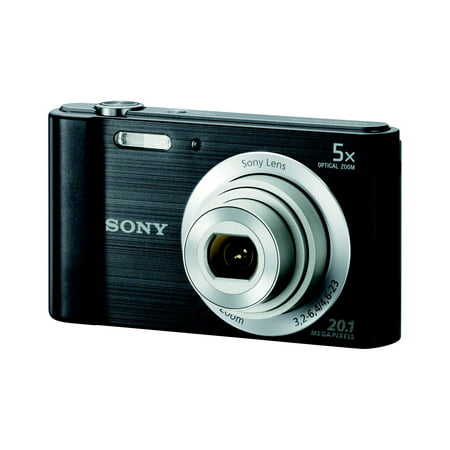 Sony DSC-W800 Digital Camera with 20.1 Megapixels and 5x Optical Zoom (Available in Black or (Camera Digital Sony Cyber Shot Dsc W800)