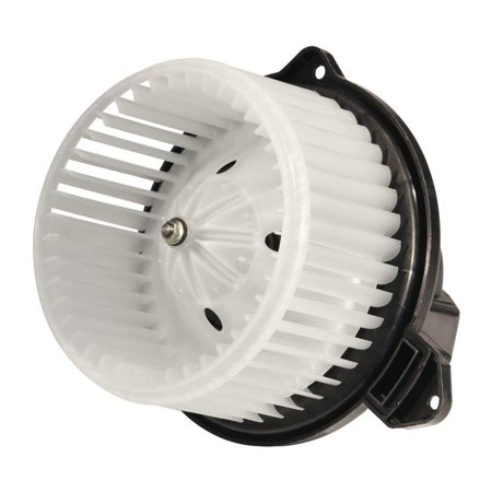 AC Blower Motor With Fan - Replaces# 5012701AB, 5096255AA, 5096256AA, PM9198, 700012 - Fits Dodge Ram 1500, Dodge Ram 2500, Dodge Ram 3500, 2002-2004 Jeep Grand Cherokee - Replacement Heater - Jeep Grand Cherokee Blower Motor